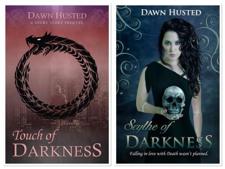 Touch of Darkness and Scythe of Darkness Covers.JPG